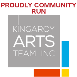 Proudly Community Run - Kingaroy Arts Team Inc.