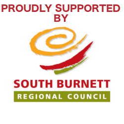 Proudly Supported by South Burnett Regional Council