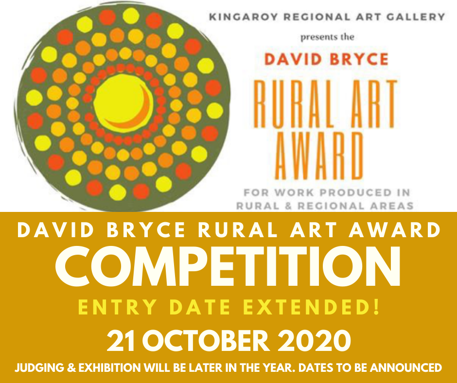 David Bryce Award entries extended!