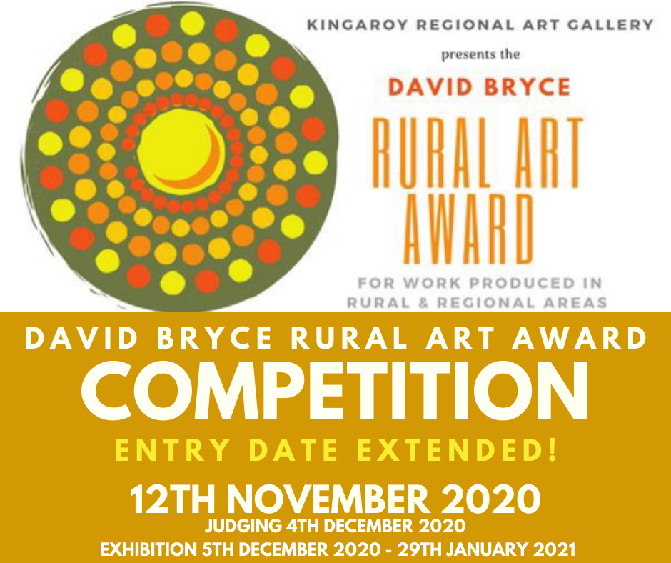 David Bryce Award entries extended till 12th November 2020