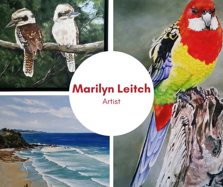 Marilyn Leitch, artist, exhibiting in March 2021