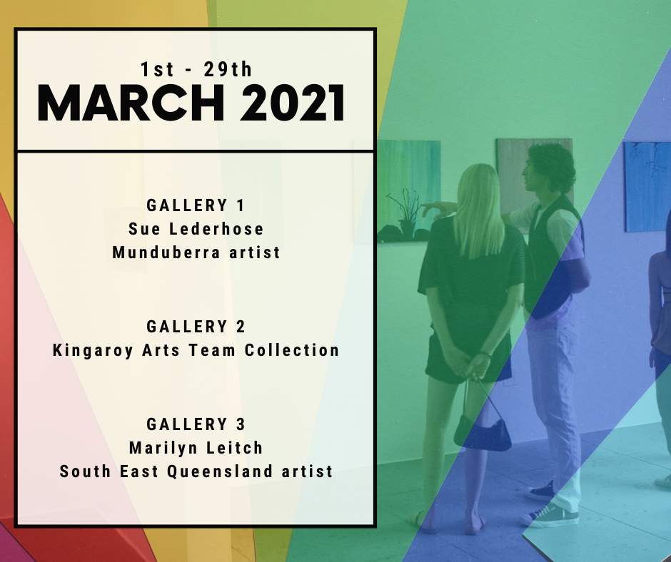 March 2021 Exhibitions