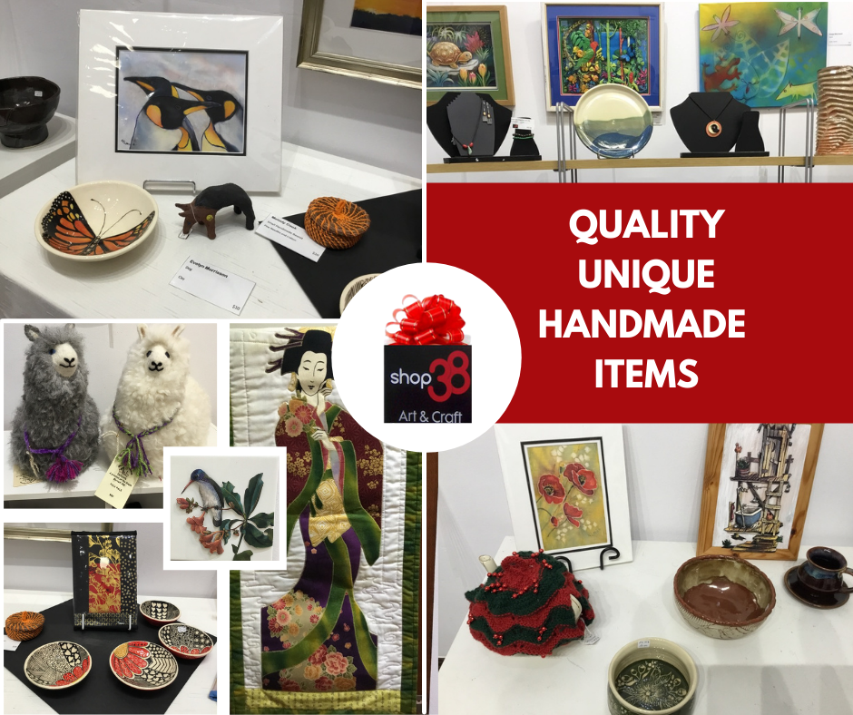NEW STOCK IS IN STORE! Unique Gifts, Handmade by locals, Shop 38