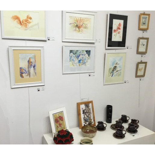 pictures, pottery and more at shop 38