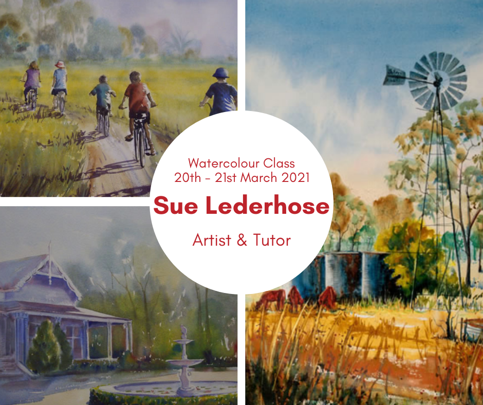 Watercolour Class With Sue Lederhose
