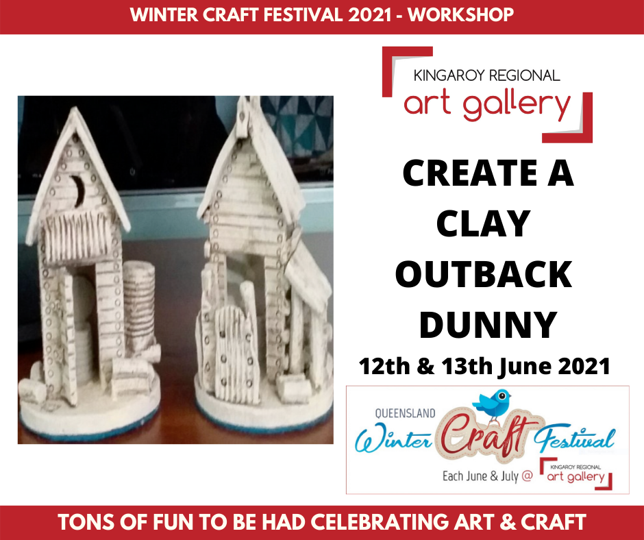 CREATE A CLAY OUTBACK DUNNY 12th & 13th June 2021