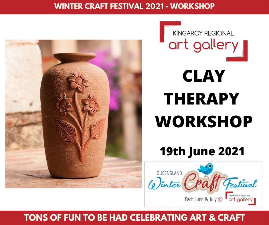 Clay Therapy Workshop on 19th June 2021