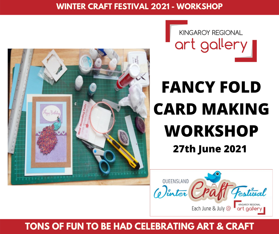 FANCY FOLD CARD MAKING WORKSHOP 27th June 2021