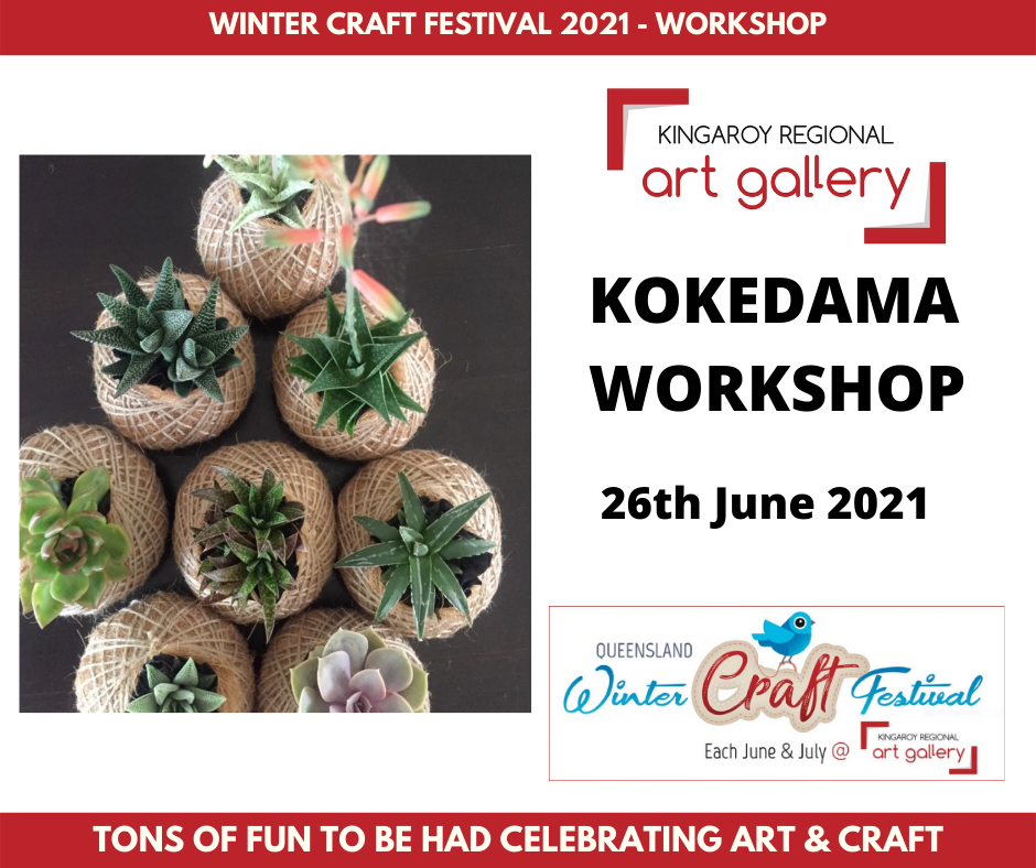 KOKEDAMA WORKSHOP 26th June 2021