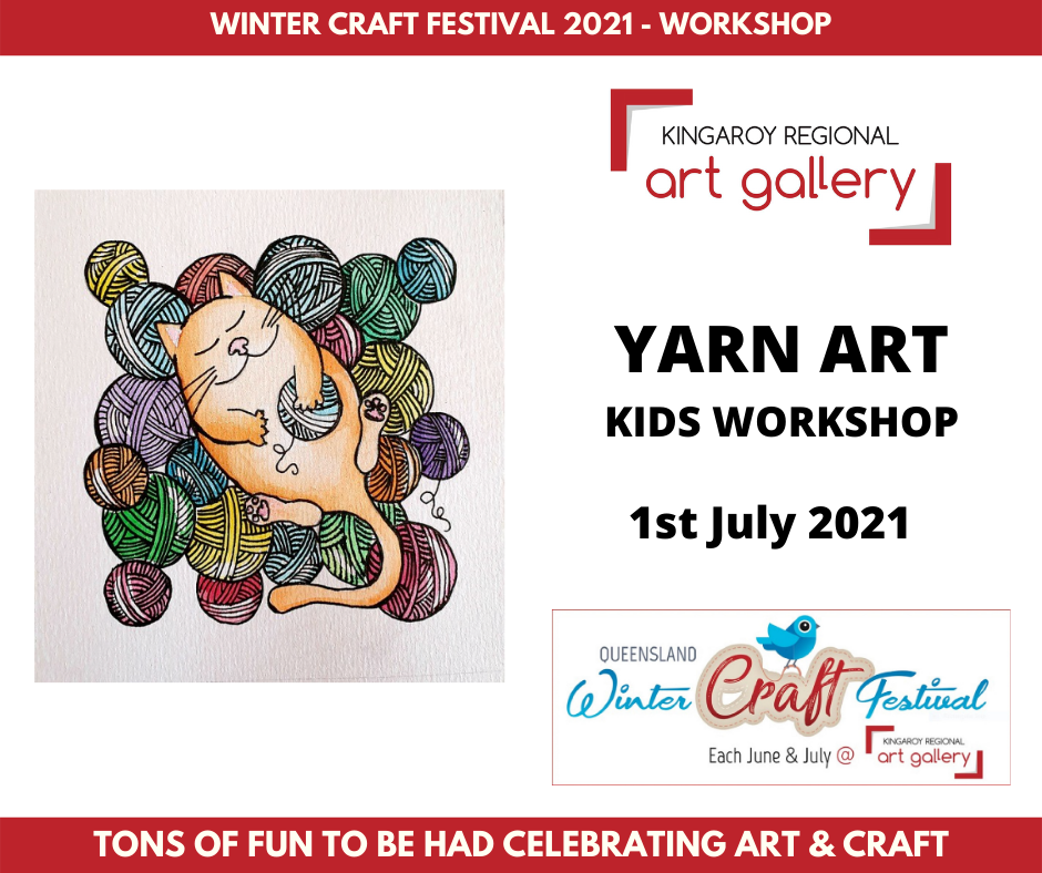 YARN ART KIDS WORKSHOP 1st July 2021