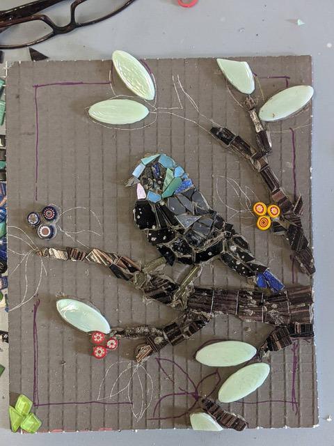 QLD Winter Craft Festival Mosaic Workshop 2021
