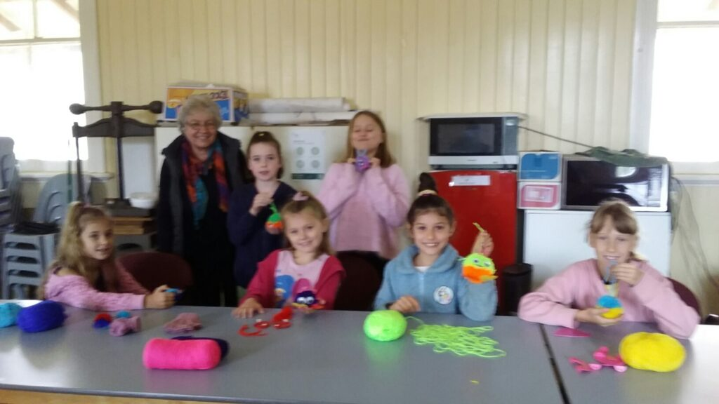 Yarn Art workshop with Rhonda Schultz